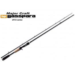 Спиннинг Major Craft Basspara 632 ML, углеволокно, штеккерный, 1,91 м, тест: 3-11 г, 118 г